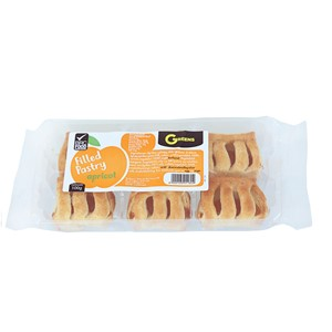 Greens Filled Pastry Apricot 100g