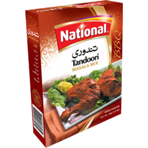 National Chicken Tandoori BBQ 100g