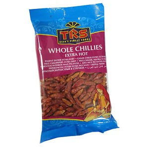 TRS Chilli Whole Extra Hot 50g