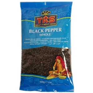TRS Black Pepper Whole 100g