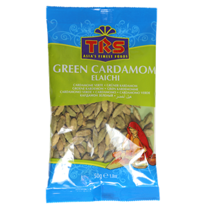 TRS Green Cardamoms Whole 50g