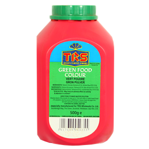 TRS Green Food Colour 500g
