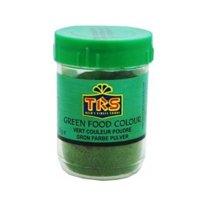 TRS Green Food Colour 25g