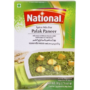 National Palak Paneer 50g