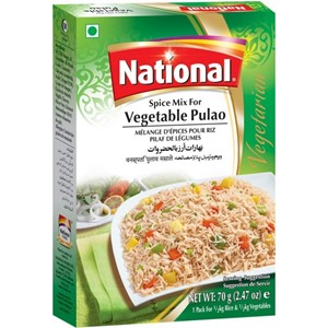 National Vegetable Pulao 70g