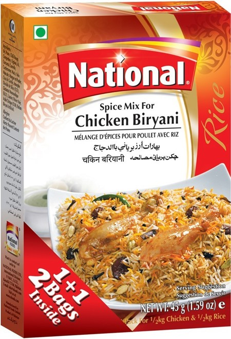 National Chicken Biryani 90g