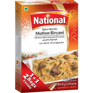National Mutton Biryani 90g