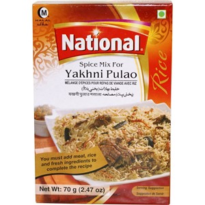 National Yakhni Pulao 140g