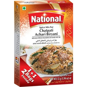 National Chatpati Achari Biryani 110g