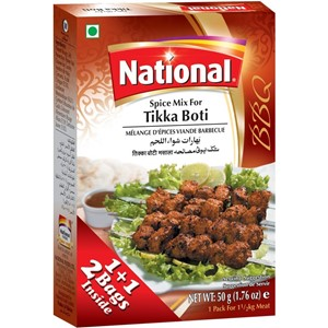 National Tikka Boti Masala 100g