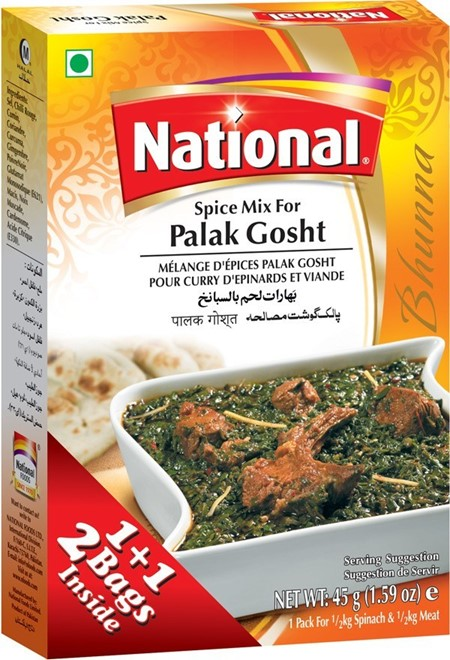 National Palak Gosht Masala 100g