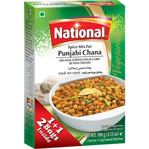 National Punjabi Chana Masala 100g