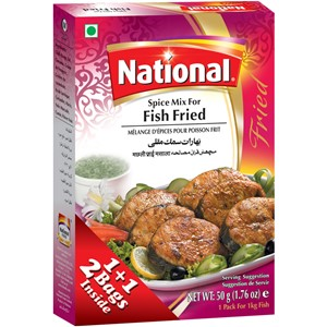 National Fried Fish Masala 100g