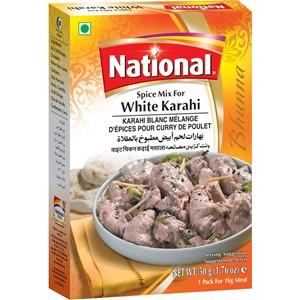 National White Karahi Masala 90g
