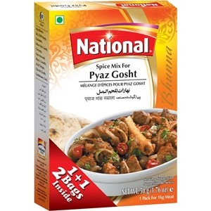 National Pyaz Gosht Masala 100g