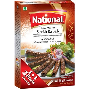 National Seekh Kebab Masala 100g
