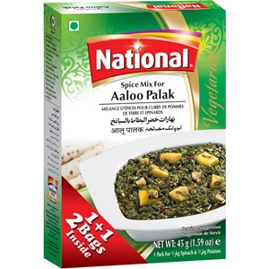 National Aaloo Palak 45g