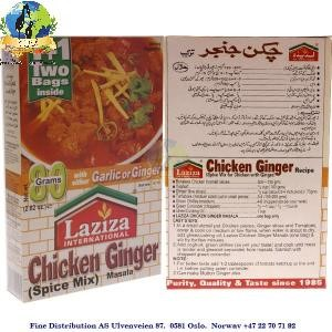 Laziza Chicken Ginger Masala 90g