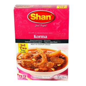 Shan Korma Curry Mix 100g