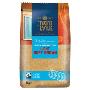 Tate Lyle Light Brown Soft Sugar 1kg
