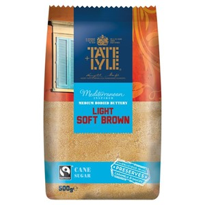 Tate Lyle Light Brown Sugar 500g