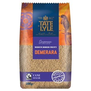 Tate Lyle Demerara Unrefined Sugar 500g
