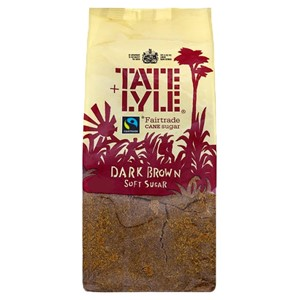 Tate Lyle Dark Brown Soft Sugar 1kg