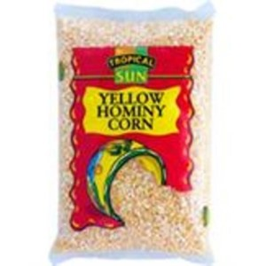 Tropical Sun Yellow Hominy Corn 2kg