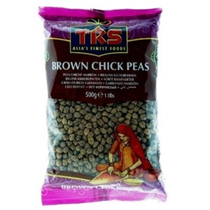 TRS Brown Chick Peas 500g