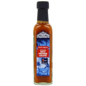 Encona WI Orig Hot Pepper Sauce 220ml