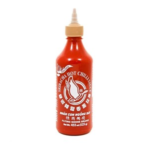 Sriracha Hot Chilli Sauce Garlic 455ml