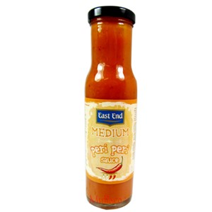 East End Medium Peri Peri Sauce 250g