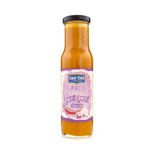 East End Garlic Peri Peri Sauce 250g
