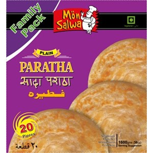 MonSalwa Plain Paratha Family Pack 20pc