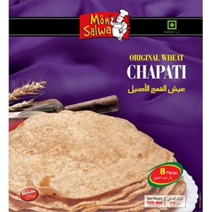 MonSalwa Original Wheat Chapatti 18stk