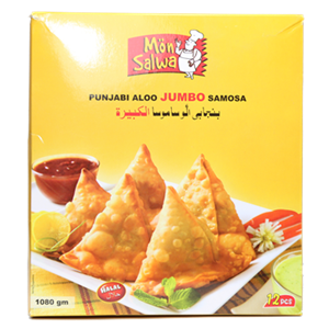 MonSalwa Jumbo Aloo Samosa 12pc 1080g
