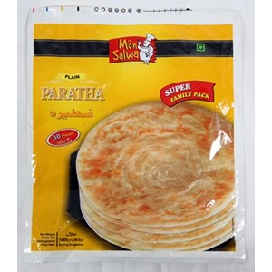 MonSalwa Plain Paratha Super Fam Pk 30stk