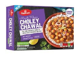 Haldirams Choley Chawal Vegan 280g ***