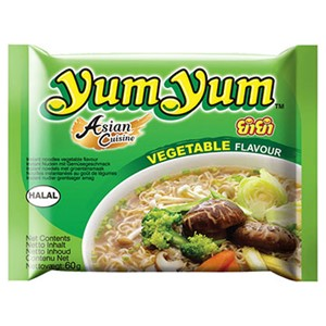 Yum Yum Vegetable Noodles 60g 30stk