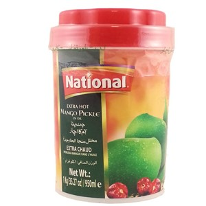 National Mango Pickle Extra Hot 1kg
