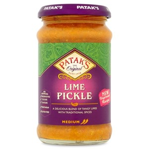 Pataks Lime Pickle Mild 283ml