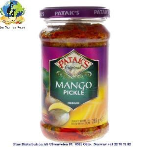 Pataks Mango Pickle Medium 283g