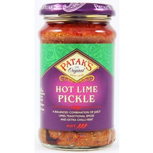 Pataks Lime Pickle Extra Hot 283g