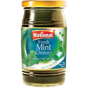 National Mint Chutney 335g