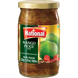 National Mango Pickle Extra Hot 320g