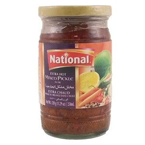 National Mixed Pickle Extra Hot 320g