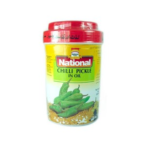 National Green Chilli Pickle 1kg