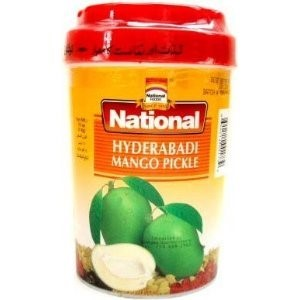 National Mango Pickle Hyderabadi 1kg