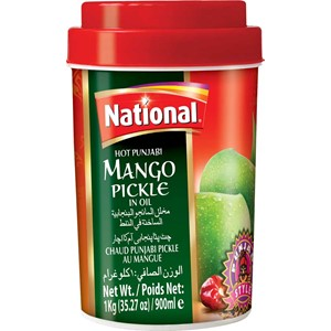 National Hot Punjabi Mango Pickle 1kg