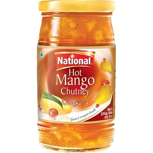 National Hot Mango Chutney 375g